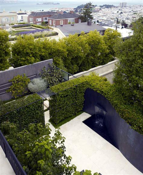 urban residential garden