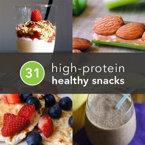 protein snacks high protein snacks 31 healthy and portable snack ideas