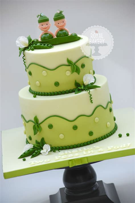 Pea In A Pod Baby Shower by Two Peas In A Pod Baby Shower Cake Cakecentral