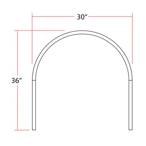half oval shower curtain rod half oval shower rod 30 x 36