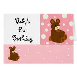 baby s birthday card zazzle