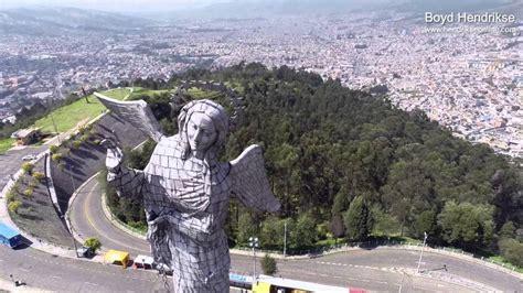Pro Pedestal El Panecillo Quito Ecuador Dronestagram