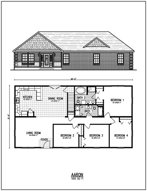 Ranch Home Plan by All American Homes Floorplan Center Staffordcape