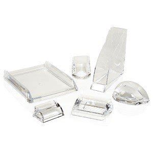 Acrylic Desk Accessories Swingline Stratus Acrylic Business Card Holder 4 5 X 3 5 X 2 25 Inches Clear S7010135