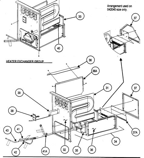 furnace parts diagram carrier gas furnace diagram images