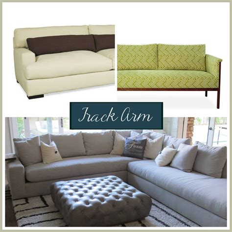 how to style a sofa sofa arm styles picking the perfect one the stated home