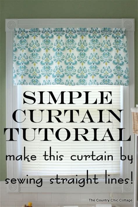 how to make simple curtains how to make curtains a super simple straight line sewing
