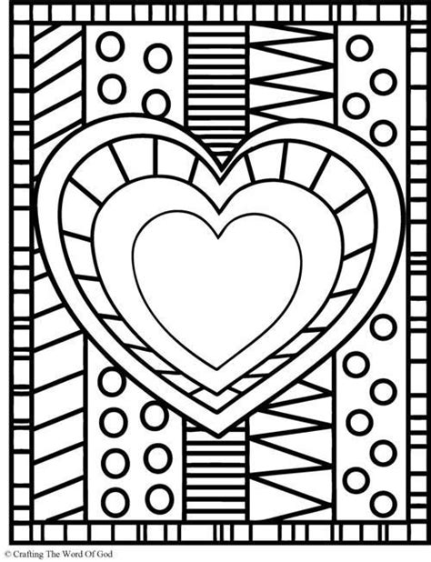 crazy patterns coloring pages coloring crazy heart and patterns on pinterest
