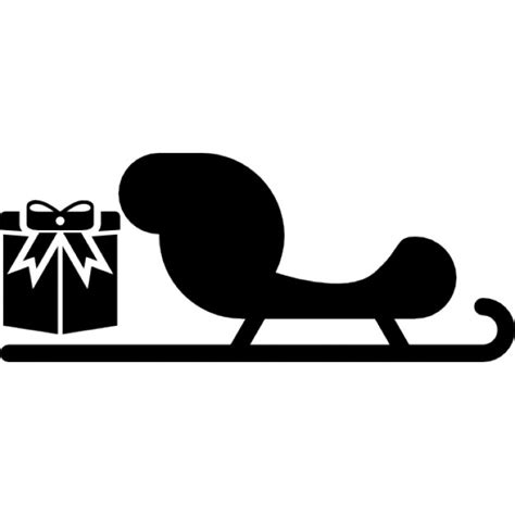 What Is A Sled Background Check Sled With A Giftbox Icons Free