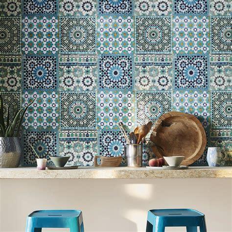 Mosaic Sur by Papier Peint Mosaic Vinyle Sur Intiss 233 Imitation Carreaux