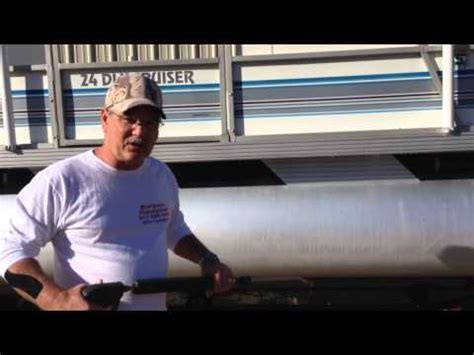 how to restore aluminum pontoons how to clean restore and shine oxidized aluminum
