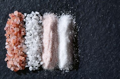 different types of salt ls salt why would you need more than one type between