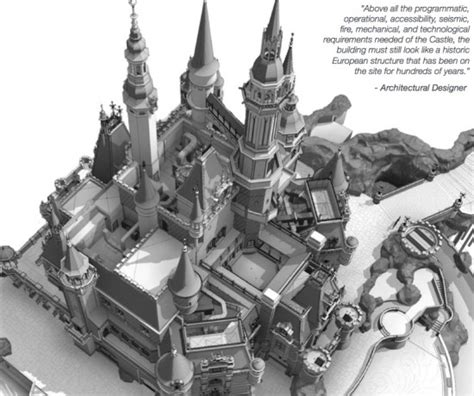 disney castle floor plan shanghai disney resort immersion dans le chantier du