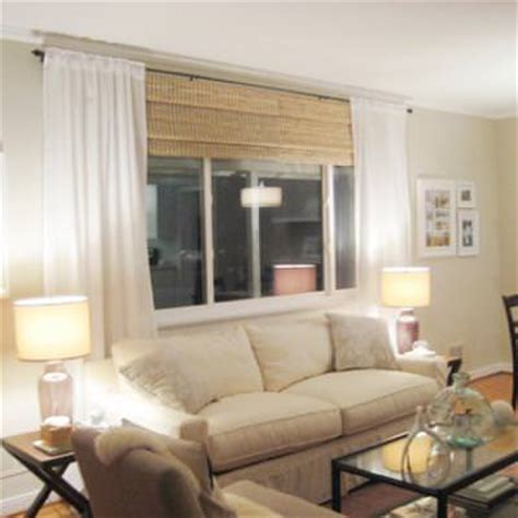 picture window treatments picture window treatment idea picture window tip junkie
