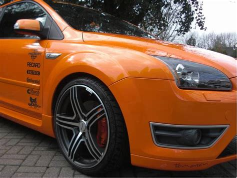Kfz Sponsoren Aufkleber by Ford Focus St 2 5 L Duratec 166 Kw 225ps
