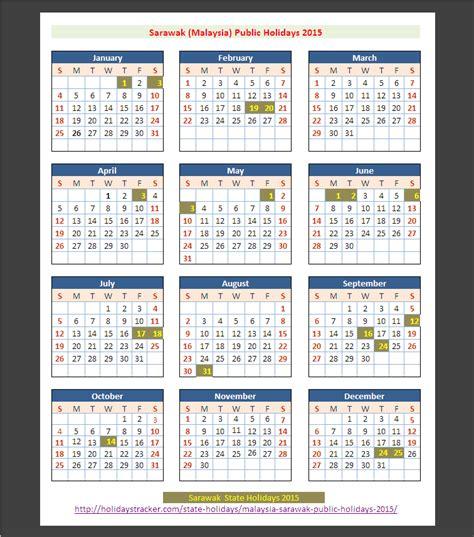 2015 year planner printable malaysia sarawak malaysia public holidays 2015 holidays tracker