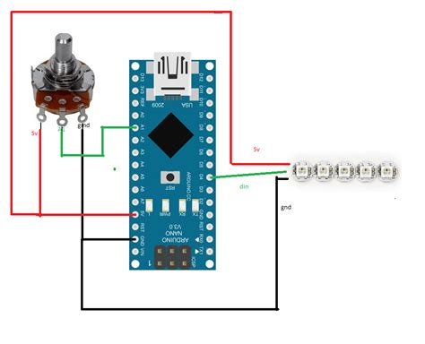 tutorial arduino nano tutorial diy ardunino adjustqable rpm leds using ws2812b