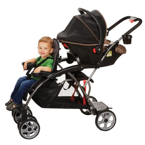 2 seat stroller for toddlers safety 1st stand on board classic black
