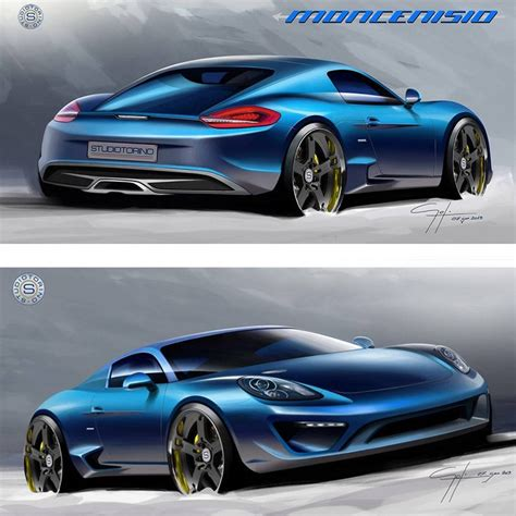 porsche concept sketch porsche cayman car sketch photos