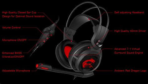 Msi Ds502 Gaming Headset msi ds502 gaming headset best deal south africa