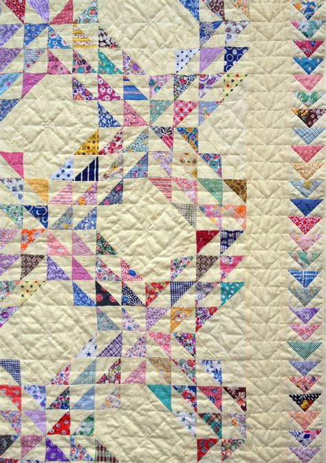 Quilted Coverlet Waves Quilt Q Is For Quilter