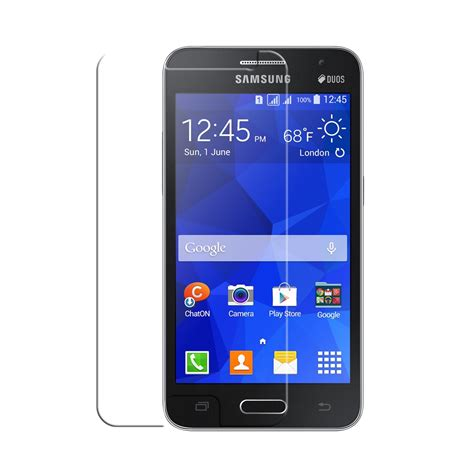 Screen Protector Samsung Galaxy 2 G355h Clear View samsung galaxy 2 ultra clear screen protector pdair 10