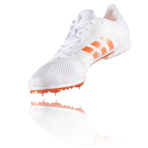 best mid distance running shoes adidas adizero middle distance mens white orange running