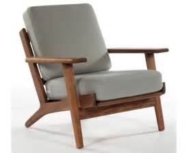 Single Arm Chairs Design Ideas 2017 Hans Wegner Armchair Living Room Chair Modern Design Chair Wood Frame Fabric Cushion Solid