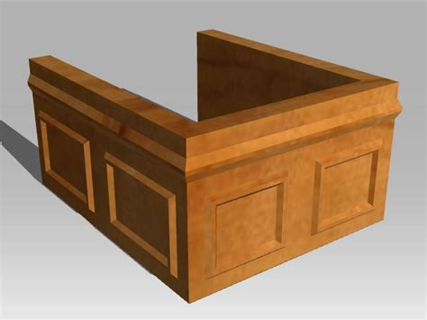 Courtroom Furniture by Courtroom Furniture In Reallusion City