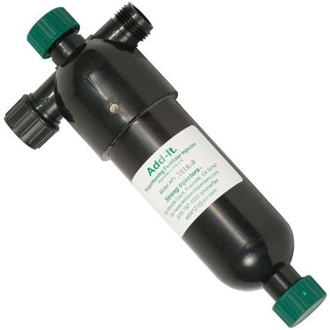 Garden Hose Nutrient Injector Add It 174 Proportioning Fertilizer Injector Pint Size