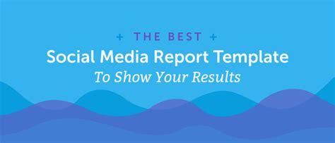 Hsus Social Media Caign Report Template Social Media Report Template How To Show Your Results