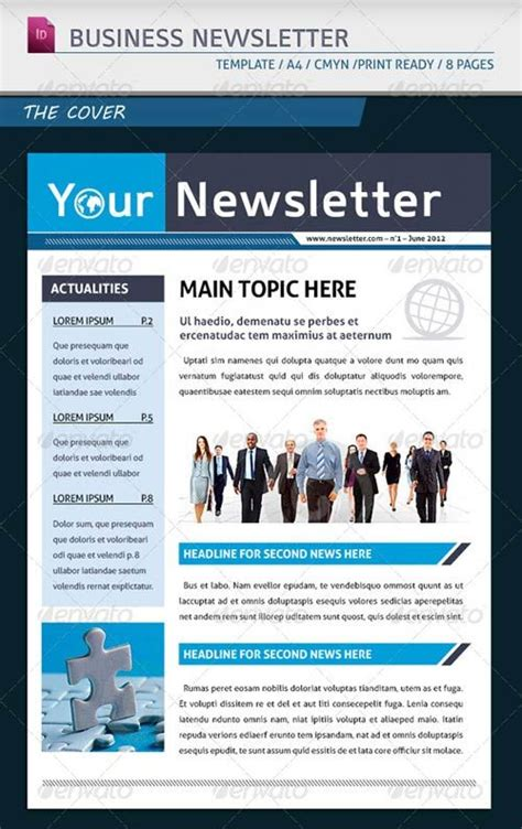 16 Best Newsletter Template Ideas Images On Pinterest Newsletter Layout Newsletter Design And Company Newsletter Email Template