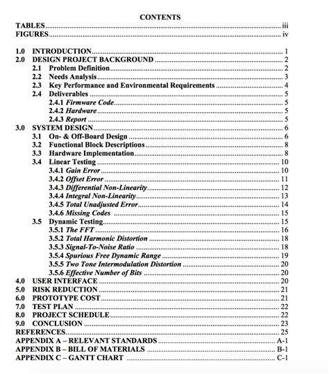 what does table formatting how do i change my table of contents to look