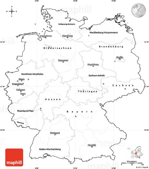 germany map printable blank simple map of germany cropped outside