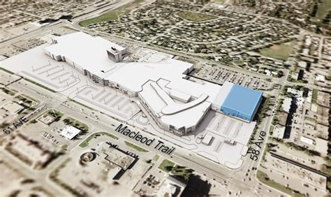layout of chinook mall nordstrom canadian store information and renderings update