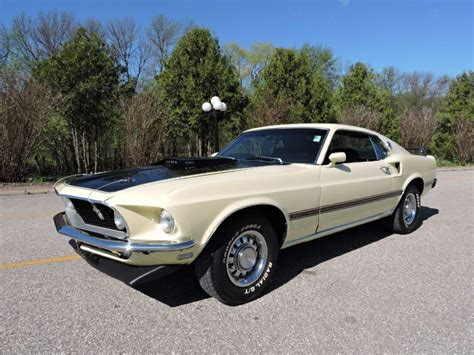 Mach 1 Mustang Automatic 1969 ford mustang 351 mach 1 fastback fmx automatic