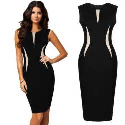Women cool beautiful ladies formal party pencil dress business dress