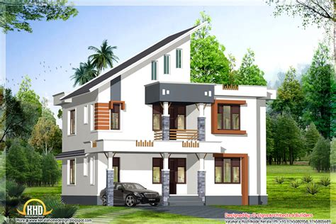 kerala home design 3d plan exterior collections kerala home design 3d views of