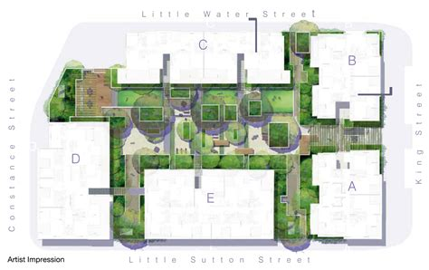Backyard Apartment Floor Plans by Roof Garden Floor Plan Apartment Building Landscape Google