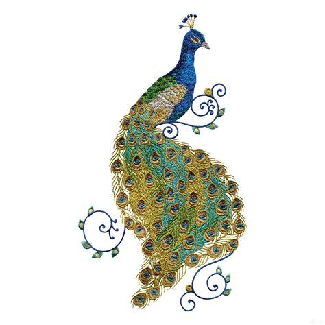 peacock applique swnpa136 peacock embroidery design peacocks peacock
