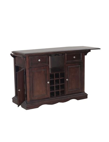 powell kitchen island powell furniture alton cherry kitchen island the home