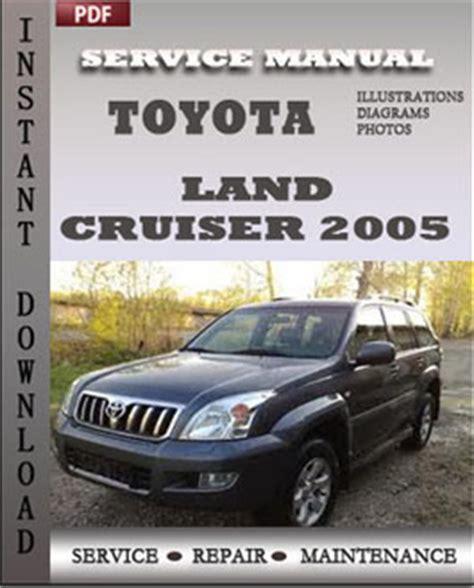 toyota land cruiser 2005 engine free download pdf repair service manual pdf