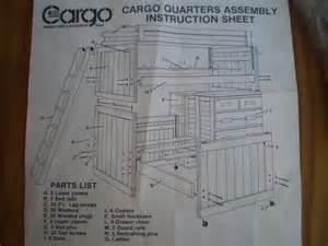 Cargo Furniture Bunk Beds Cargo Furniture Garage Sale