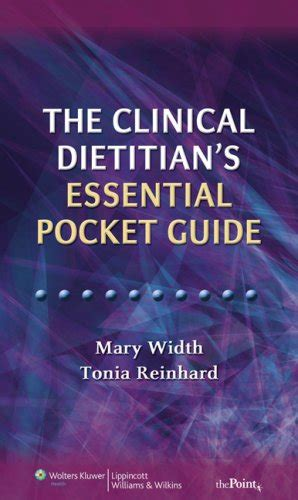 the essential nutrition pocket guide an individualized approach books the clinical dietitian s essential pocket guide