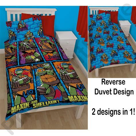 Tmnt Bedding by Mutant Turtles Bedding Single Duvet Cover
