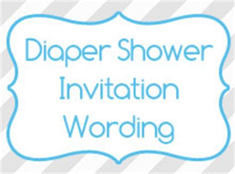 Diapers And Wipes Shower Invitation by Diaper Shower Invitation Wording Birthday Invitation Wording