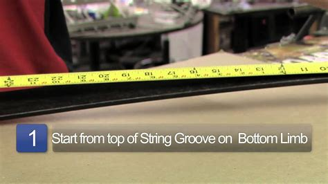 Length Of A by How To Measure String Length For A Bow