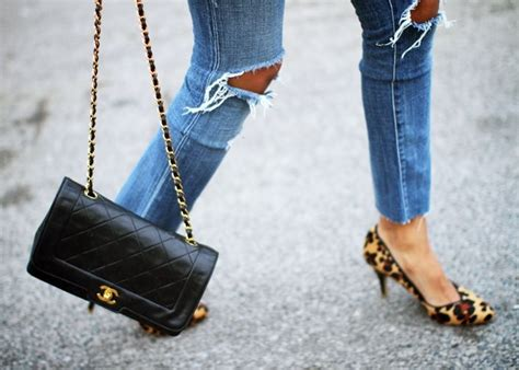 Kacamata Chanel 2 Leopard ripped leopard shoes our 2 55 chanel bag