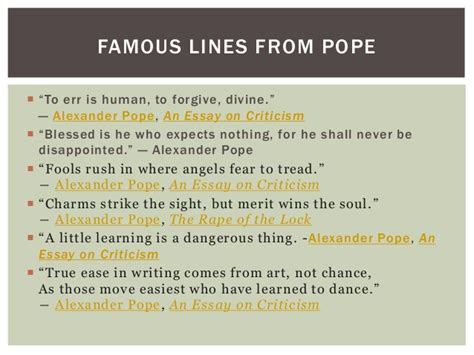 Pope Essay On Criticism Pdf by Pope An Essay On Criticism Pdf Kingessays Web Fc2