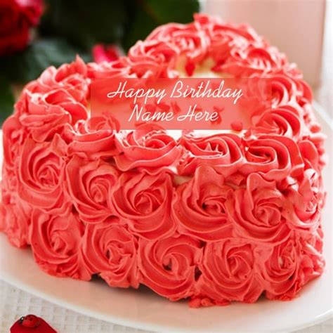 beautiful rose birthday cake images   edit